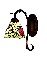 Rose For Tiffany Wall Lamp with 1 Lights
