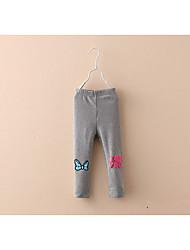 Bow Girls Leggings Baby Trousers Autumn