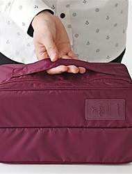 portáteis dupla bolsa de higiene femininos meias underwear bra acabamento saco