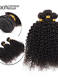 """8A Brazilian Hair Queen Wave Beauty Kinky Curly Hair Weaves 3PCS 8""""-30""""Unprocessed Hair Kinky Curly Hair Extensions"""