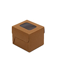 Brown Color Packaging & Shipping Food Packaging Box A Pack of Ten