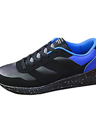 Men's Sneakers Spring / Summer / Fall Flats Fabric / Leatherette Outdoor / Athletic / Casual Flat Heel  / Red / White