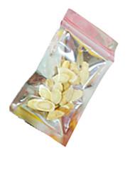 silberne Farbe, Kunststoff Verpackung&Verschiffen 30 * 40 ziplock Beutel ein Paket von zwölf