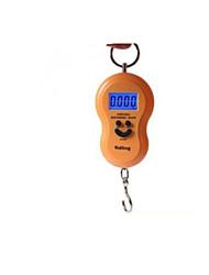 échelle électronique portable (échelle maximale: 45 kg, jaune)