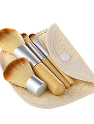 4Pcs Makeup Brushes Set