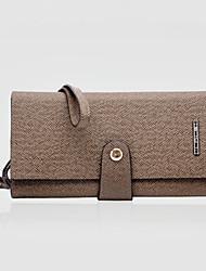 Fine Men's PVC Clutch Bag Wallets