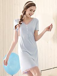 Damen Pyjama - Elasthan / Modal