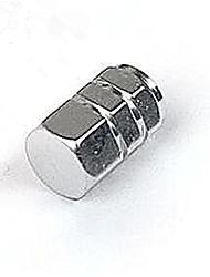 4pcs automobile cap des pneus, couvercle de soupape, bouchon de valve en aluminium 13-2c \ 191
