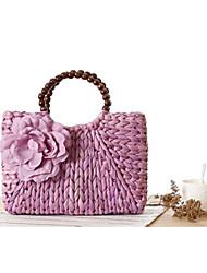 STYLE-CICI® Women Straw Tote White / Pink / Purple / Green / Fuchsia-36431058277