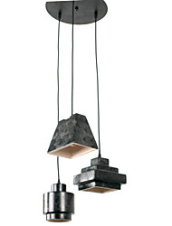 60W Pendant Light ,   Vintage / Retro / Country Others Feature for Mini Style