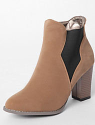 Women's Boots Fall / Winter Heels / Riding Boots / Fashion Boots /  Comfort / Combat Boots / Pointed ToePatent Leather /