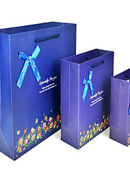 floral sacs-cadeaux sacs de vêtements sac taille pas. Vente en Gros sacs sac personnalisé cadeau un paquet de cinq bouquet