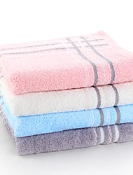 "1 PC Full Cotton Thickening Hand Towel 13"" by 29"" Super Soft Stripe Pattern"