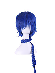 The New Blue Turns Up The Flute Tells - Sinbad Cosplay Anime Wigs 38Inch