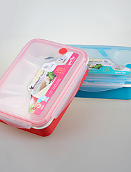 Yooyee BPA Free 4 Compartment Lunchbox Food Container