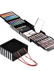 Professional EyeShadow Powder Blush Palette 177 Color Cosmetics Makeup Eyeshadow With Sponge & Mirror