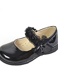 Girl's Flats Spring / Summer / Fall / Winter Comfort Leatherette Athletic / Casual Low Heel Others Black Others