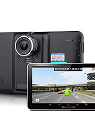 Intelligent Navigation / Integrated Machine /7 Inch Capacitive Screen / Quad Core / Bluetooth / HD