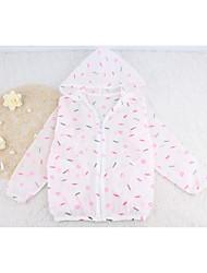 Casual/Dagelijks-Print-Polyester-Zomer-Baby-Kostuum & Blazer,Blauw / Roze / Wit
