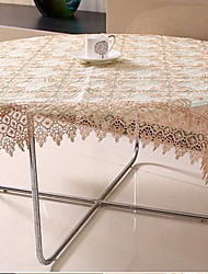 Hollow Out Water Soluble Lace Table Cloth Embroidery Tablecloth (55 * 55 cm)