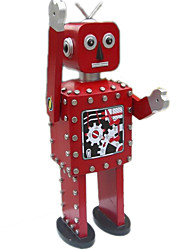 Игрушка новизны / Логические игрушки / Обучающие игрушки / Игрушка с заводом Модели и конструкторы / / воин / Робот Металл СеребристыйДля