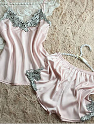 Damen Pyjama - Polyester / Kunstseide