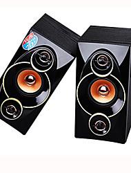 KELING Bluetooth 2.0 Multimedia Wooden Desktop Computer Speakers Notebook Desktop Audio Subwoofer Combination