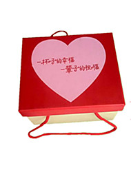 Red Color, Other Material Packaging & Shipping Gift Box