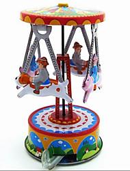 Neuheit-Spielzeug / Tue so als ob du spielst / Puzzle Spielzeug / Aufziehbare Spielsachen Neuheit-Spielzeug / / Schwein / Merry-go-round