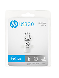 o novo HP usb x252w de metal 64GB de disco criativo u