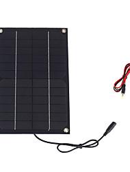 6w 12v монокристаллический панели солнечных батарей с постоянного тока заряда кабеля для 12v батареи (swr6012d)
