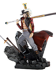 On Top of Other Theater Version of Hawkeye Mihawk King of Battle Garage Kit Anime Action Figures Model Toy