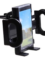 telescópica veículo de ar condicionado saída de ar rotativos de telefonia móvel, suporte de navegação, suporte de tela grande sd-1121a