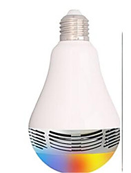 Creative lamp LED Bluetooth stereo speaker, LED bulb lamp intelligent music music lamp bulb LED seven car audio