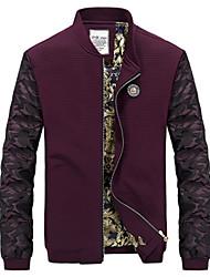 2016 spring and autumn Korean male youth leisure jacket jacket slim man coat color coat collar tide
