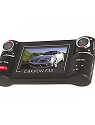 F30 Electronic Vehicle Dual Lens Driving Recorder HD 120 Degree Wide-Angle