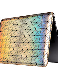 "Case for Macbook 13"" Macbook Air 11""/13"" Macbook Pro 13""/15"" MacBook Pro 13"" with Retina display Geometric Pattern Plastic Material Chip Flash Point"