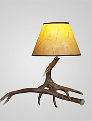 vintage Table Lamps country Antler lamps Industrial Fixture 1-Lights  Living Room Bedroom lights