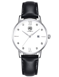 AIBI® Women's Watch Imitation Diamond Calendar Water Resistant/Water Proof Dress Watch Black Designer Wrist Watch For Women With Watch Box
