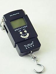 balance électronique portable (plage de pesée: 50 kg / 10g)