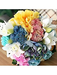 Polyester Wedding Decorations-1Piece/Set Artificial Flower Engagement / Wedding Garden Theme
