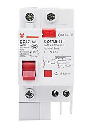 утечки протектор DZ47LE - 631 - р + п миниатюрный автоматический выключатель