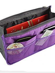 Double Zipper Cotton Bag In Bag Storage Bag Multifunctional Bag In Bag Cosmetic Bag