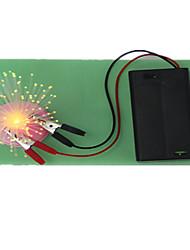 Homemade fiber optic lights