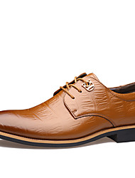 Westland® Men's Oxfords Comfort/Pointed Toe  Leather Office & Career/Party & Evening/Casual Low Heel/Black Oxfords