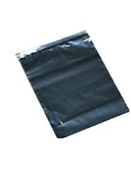 couleur noire, les emballages en matière plastique&expédition pe sac ziplock noir un paquet de vingt