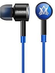 1More® (MOMO Edition)In-Ear Earphones with Wheat  Double Wire Intelligent System Hi-Fi (Blue)