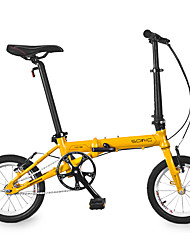 Folding Bike Cycling Others 14 Inch Men's / Unisex kids / Women's / Unisex Ordinary Ordinary Folding Ordinary/Standard / Anti-slip