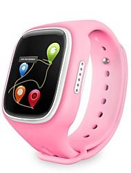 lekemi Дети GPS часы трекер 1,44 'с сенсорным экраном 500 мАч аккумулятор Сос позвонить GeoFence сигнализация GSM GPRS локатор