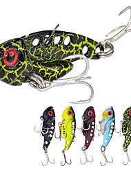 5pcs/lot Afishlure 7g/42mm Metal VIB with Treble Hook Artificial Lure Metal Spoon Fishing Lure